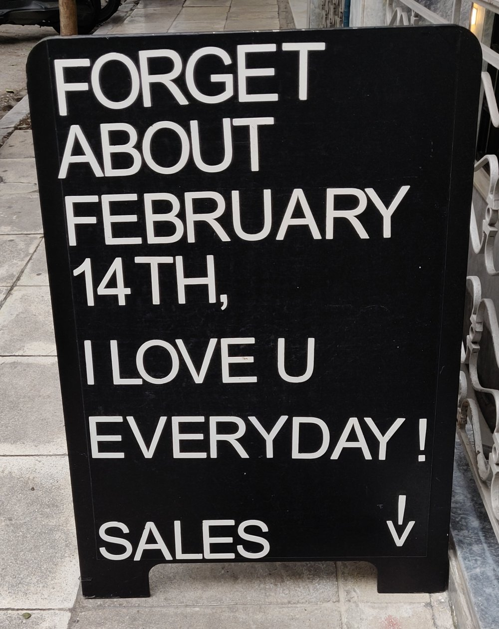 Forget about Feb 14